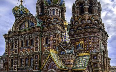 Moskva Sankt Peterburg proleće avionom