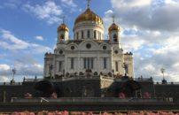 Moskva avionom proleće 2020