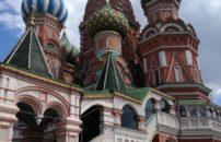 Moskva Sankt Peterburg jesen