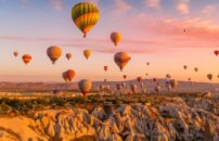 Kapadokija putovanje balonom