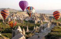Kapadokija Turska baloni